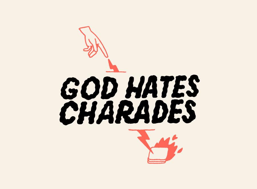 God Hates Charades Logo
