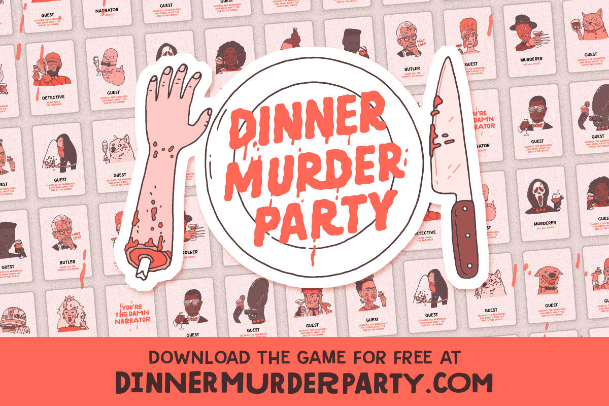 Dinner Murder Party - Print & Play
